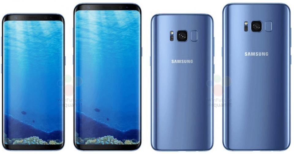 Here are the Leaked Images of Samsung S8 & S8 Plus Ahead of Official Launch