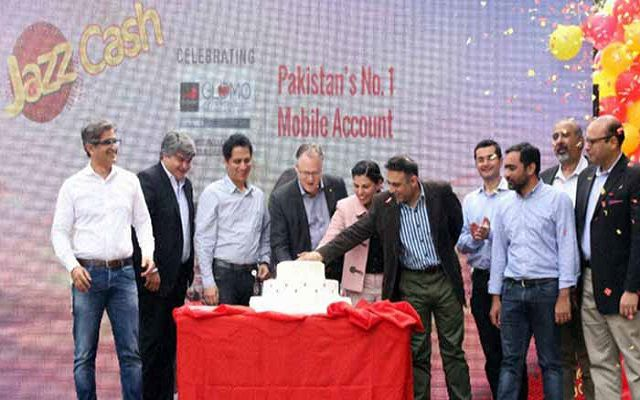 JazzCash Celebrates 2 million Active Mobile Accounts in Six Months