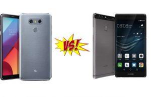 LG G6 vs Huawei P10