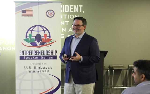"NIC Hosts ""Entrepreneurship"" Speaker Series in Partnership with US Embassy"