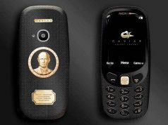 Meet Nokia 3310 that Features a Gold-Plated Portrait of Vladimir Putin