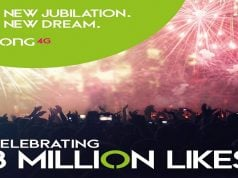 Zong Reaches 3 Million Likes on its Facebook Page