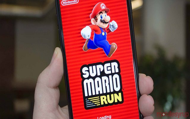 Nintendo released the game Super Mario Run for Android
