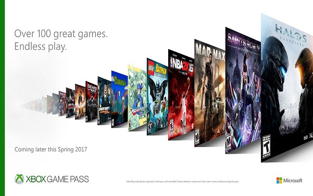 Xbox Introduces $9.99/Month Subscription Service With Access to 100 Games