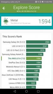 huawei p10 lite vellamo scores and comparison results