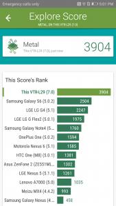 huawei p10 vellamo scores and comparison
