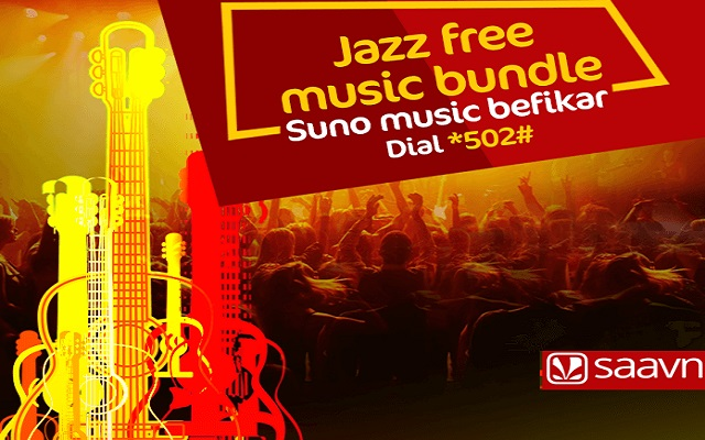 Jazz Partners with Saavn