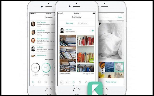 KonMari: An App That Helps You to Get Your Things Organize