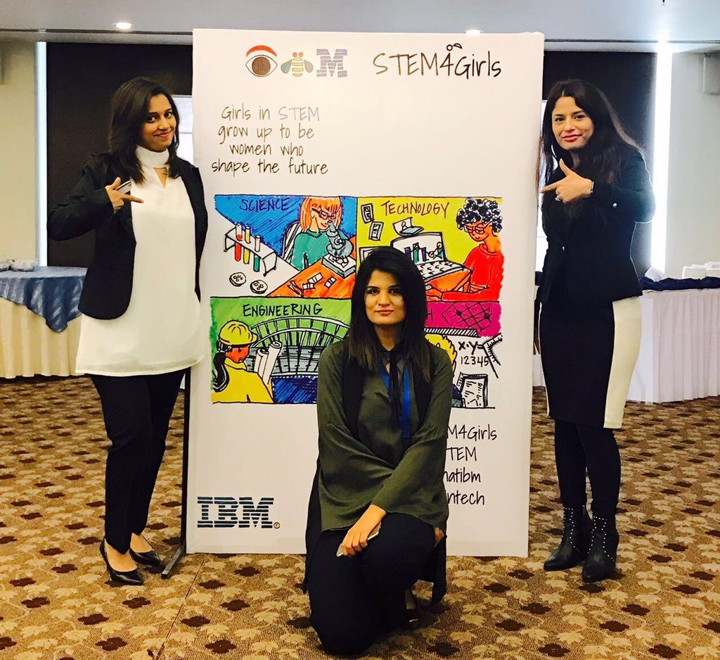 IBM Pakistan Hosts First Ever STEM Forum for High School Girls