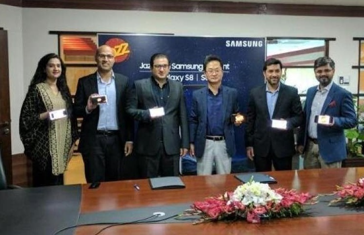 Jazz and Samsung Launch S8 l S8+ in Pakistan
