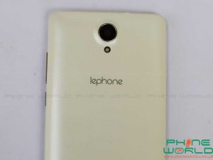 lephone w7 plus back camera flash light