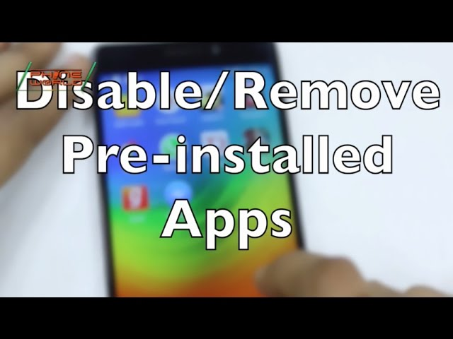 Photo of Smartphone Tips & Tricks | Uninstall Pre-Installed Apps by Disabling (Android)