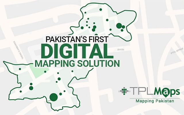 TPL Maps Roll Out Pakistan's First Street Vision Map
