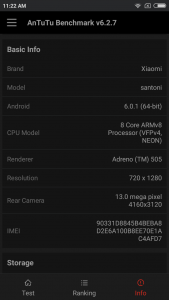 xiaomi redmi 4x antutu scores and comparison results