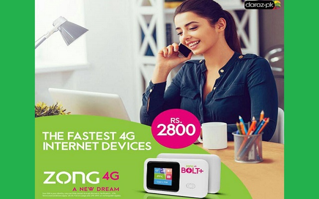Zong 4G Internet Devices