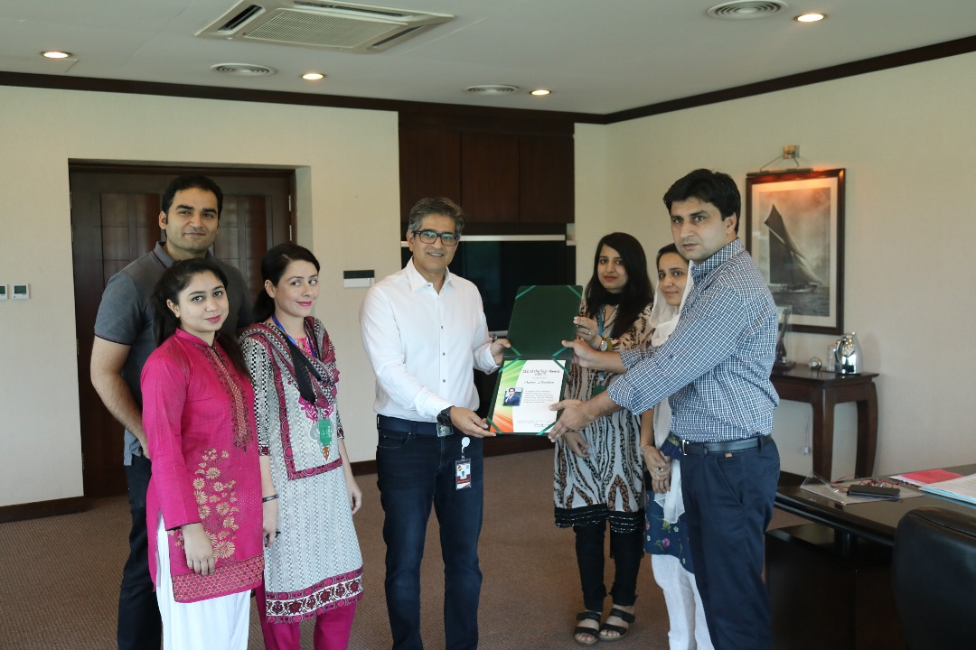 'CEO of the Year 2016-17' Excellence Award Presented to Aamir Ibrahim