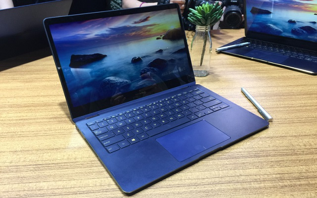 Asus Announces ZenBook Flip S - World's Thinnest High-End Convertible Laptop