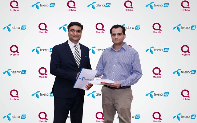 QMobile Partners with Telenor Pakistan for Larger 4G Penetration in the Country