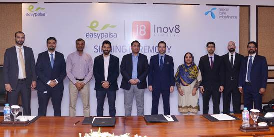 Telenor Microfinance Bank & Inov8 Join Hands to Promote the Mobile Financial Services Industry