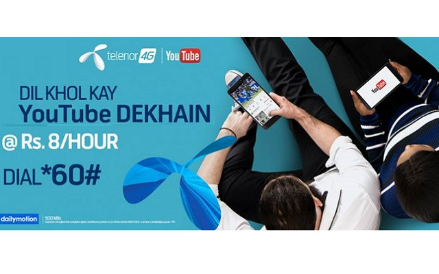 """Telenor Releases TVC to Promote its """"Ab Dil Khol Kay YouTube Dekhain"""" Campaign"""