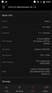 nokia 5 antutu scores and comparison