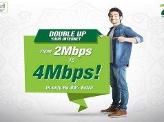 "PTCL Releases Double Up TVC to Promote its ""2 Mbps Ko Karain 4"" Offer"