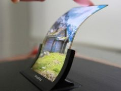 First Stretchable Display