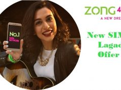 Zong New SIM Lagao Offer