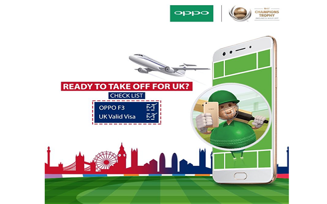 Oppo Offers Chance to Watch ICC Champions Trophy Final Live in England