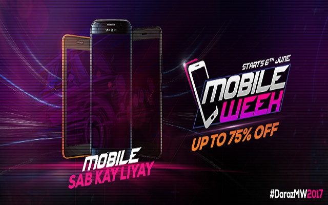 Daraz Mobile Week is Back with a Bang TVC: Enjoy up to 75 % Discount