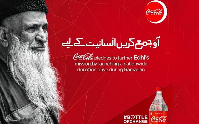 Easypaisa to Support Coca-Cola's Fundraising Campaign for Edhi