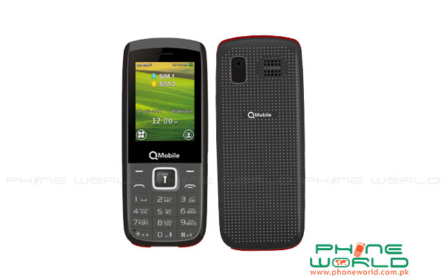 QMobile Launches Eco 100 with dual LED Torch in Rs.1650/-