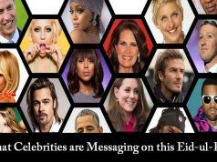 Here are Eid Mubarak Greetingsfrom Celebrities to felicitate Eid-ul-Fitr