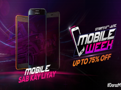 Daraz Mobile Week Offering upto 75% off on Leading Phone Brands