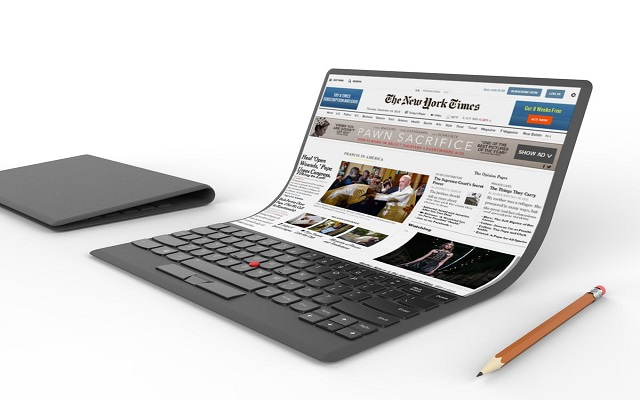 Would you fancy a bendable Lenovo laptop?