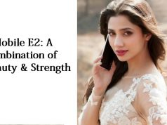 Mahira Khan Endorses Latest Noir E2 in the QMobile TVC