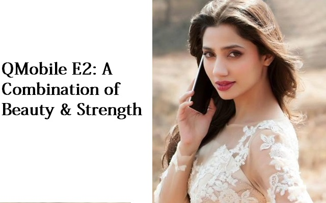 Mahira Khan Endorses Latest Noir E2 in the QMobile TVC