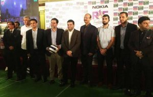Nokia Partnered with World Group to Bring int'l Football in Pakistan