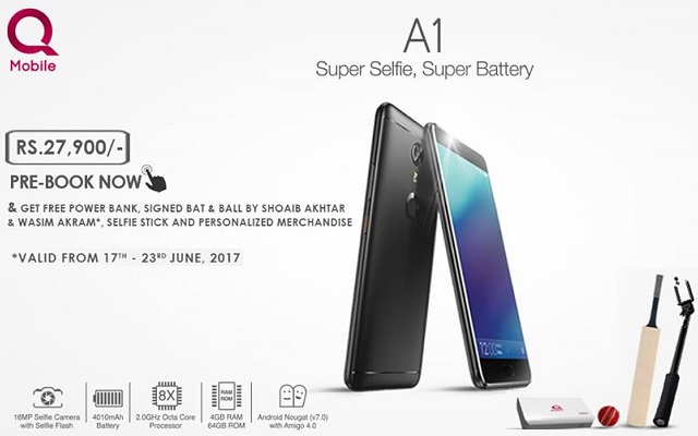 Photo of QMobile Launches A1 with Android Nougat and Many Other High-end Specifications