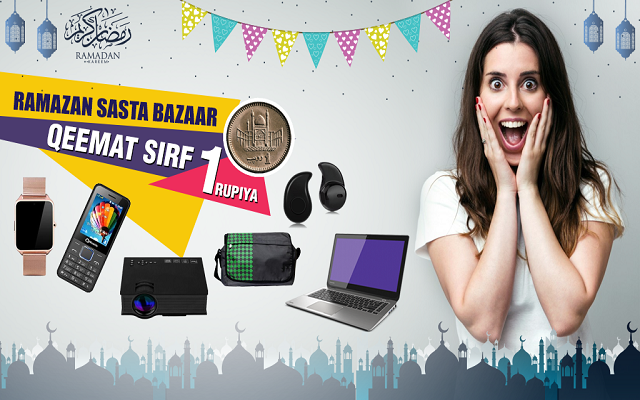 Shop with 24HOURS.PK & Purchase from Ramazan Sasta Bazaar for only PKR 1