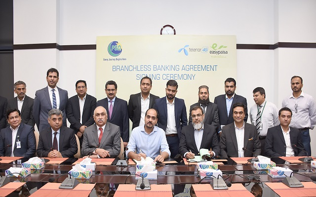 Telenor Pakistan Partners with PSO to Offer Branchless Banking Services for Customers
