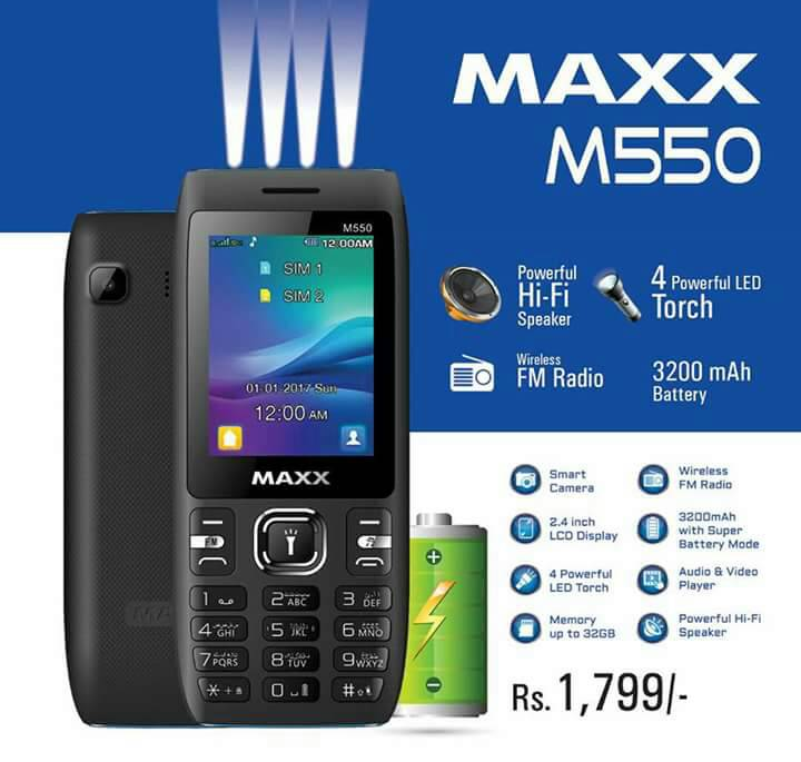 maxx 550