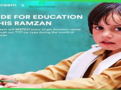 Careem Partners With TCF to Promote Education this Ramadan