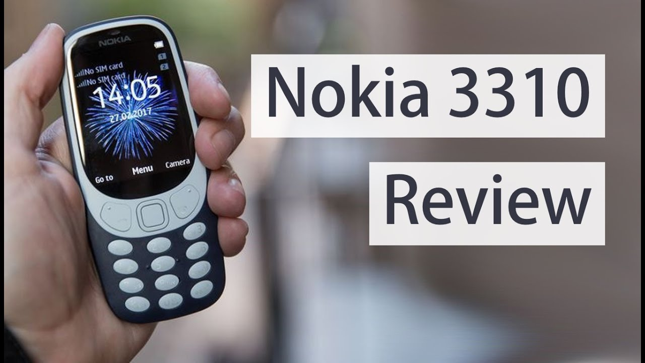 Nokia 3310 Video Review