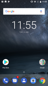 nokia 6 interface display results