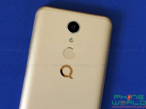 qmobile cs1 back body fingerprint scanner