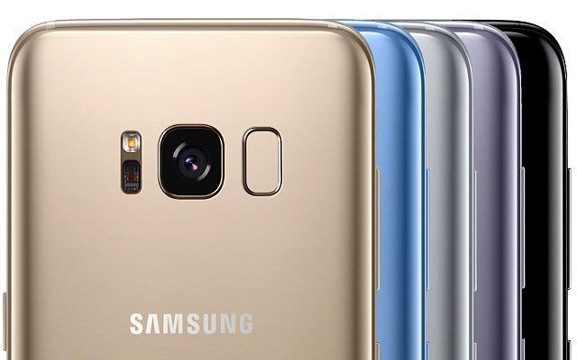 Rose Gold Galaxy S8