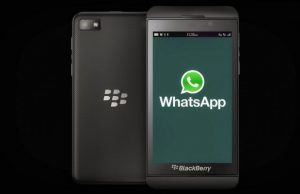 WhatsApp Supports for BlackBerry