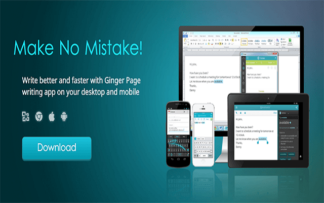 Ginger Page Premium: A Perfect App to Correct Grammar and Spellings