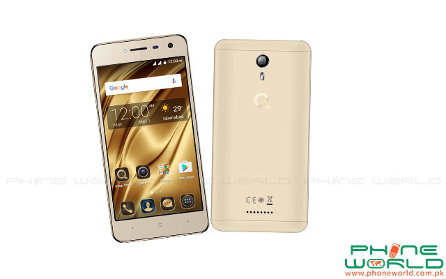 QMobile Presents i6 Metal with Metallic Back Cover